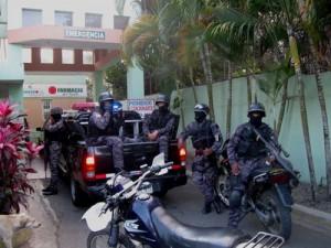 policia en Bonao