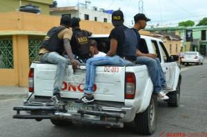 DNCD- Operativo en barrio de Gualey