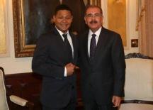 Danilo Medina y El Jefry