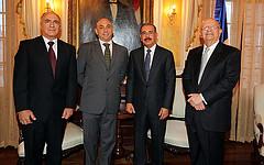 El presidente Danilo Medina recibió este lunes la visita de cortesía del nuevo Coordinador Residente del Programa de las Naciones Unidas