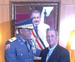 Monseñor Fabio Mamerto Rivas expresa respaldo al mayor general Castro Castillo