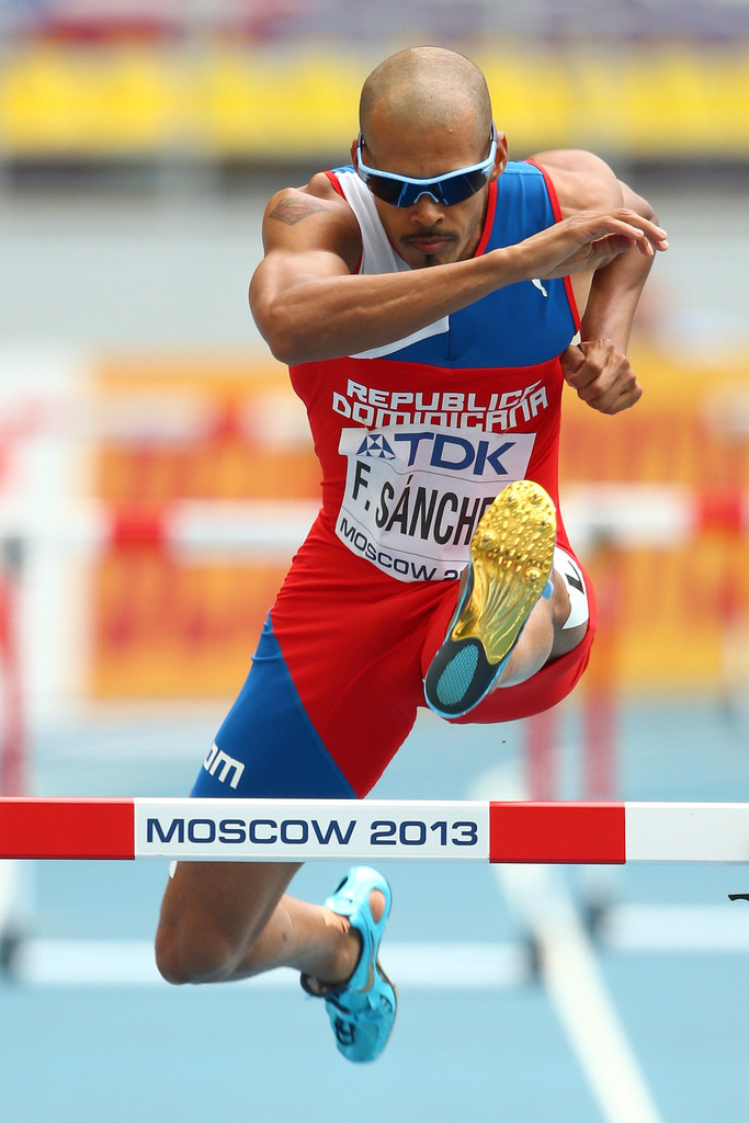 Félix Sánchez clasifica para la final del Mundial de Atletismo en Moscú