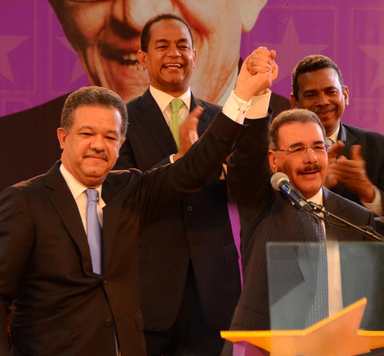 Leonel Fernández dice se siente orgulloso del primer año de Danilo Medina