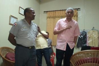 Diputado Nelson Guillén dona comedor a Policía Nacional de San Cristóbal