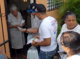Intervienen barrios de Moca ante amenaza del dengue
