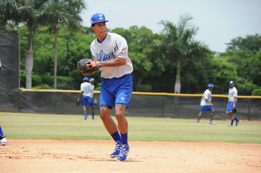 Tigres del Licey seleccionan a hijo de Raúl Mondesí en Draft de Novatos