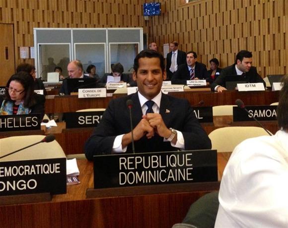 Eligen a Marcos Díaz, vicepresidente en Convención Internacional contra el Dopaje