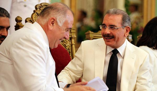 Siete embajadores presentan credenciales ante presidente Danilo Medina