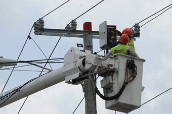 EDESUR informa continuarán los apagónes por matenimiento redes en zonas SD y SUR