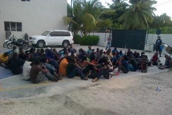 Marina de Guerra apresa 23 personas viajarían ilegalmente a Puerto Rico
