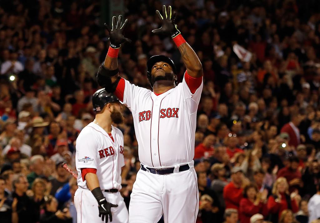 Medias Rojas de Boston ponen a David Ortiz dispara dos cuadrangulares y Boston Medias Rojas de Boston vence a Tampa y ponen la serie divisional 2-0
