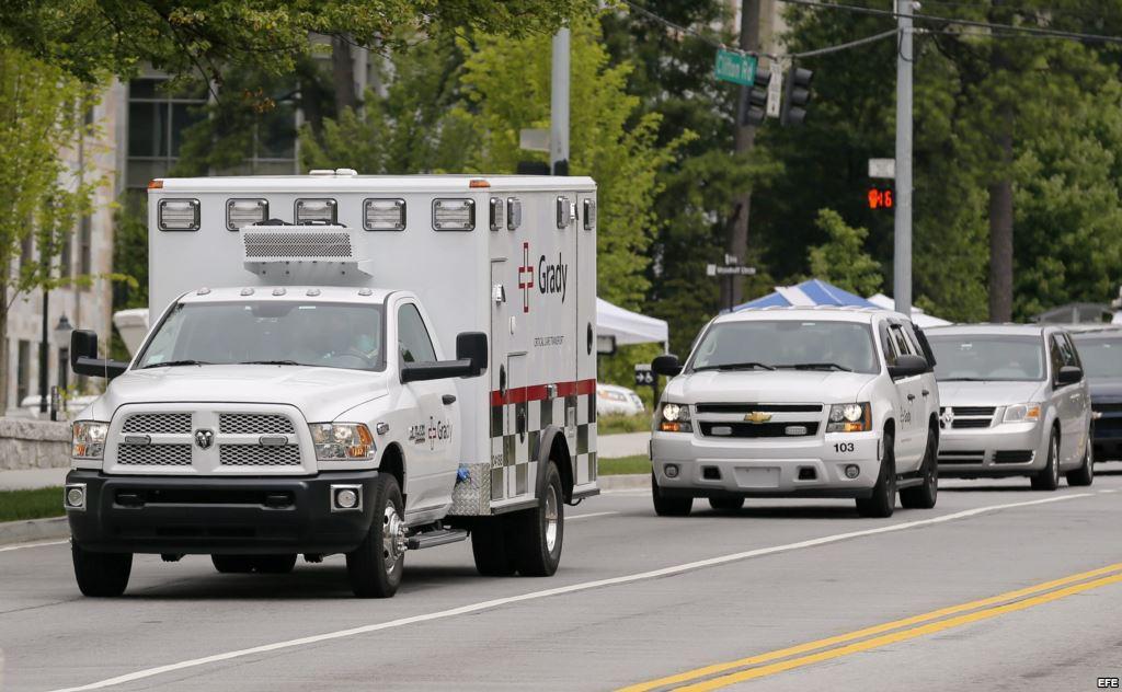 Llega a Atlanta segundo ciudadano americano infectado con ébola