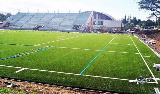 Estadio del Cibao FC en la PUCMM casi listo para inicio del torneo de fútbol