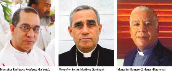 El Papa Francisco designa tres nuevos obispos en Santiago, Barahona y La Vega