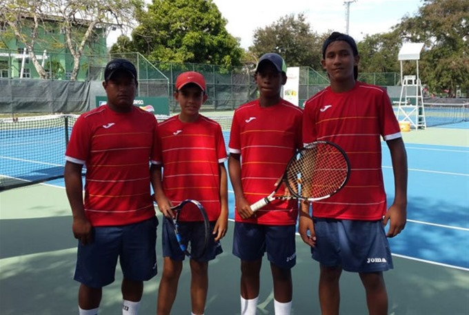 Equipo de RD avanza a la siguiente fase en el tenis infantil