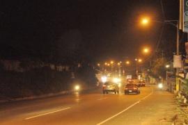 EDESUR ilumina autopistas y carreteras principales de su área de concesión