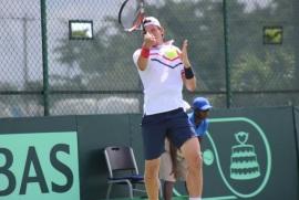Bebo Hernández da victoria a RD en Copa Davis
