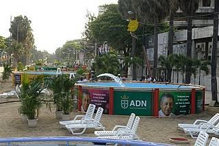 Ayuntamiento del Distrito Nacional cerrará a partir de mañana un tramo del Malecón para instalar piscinas