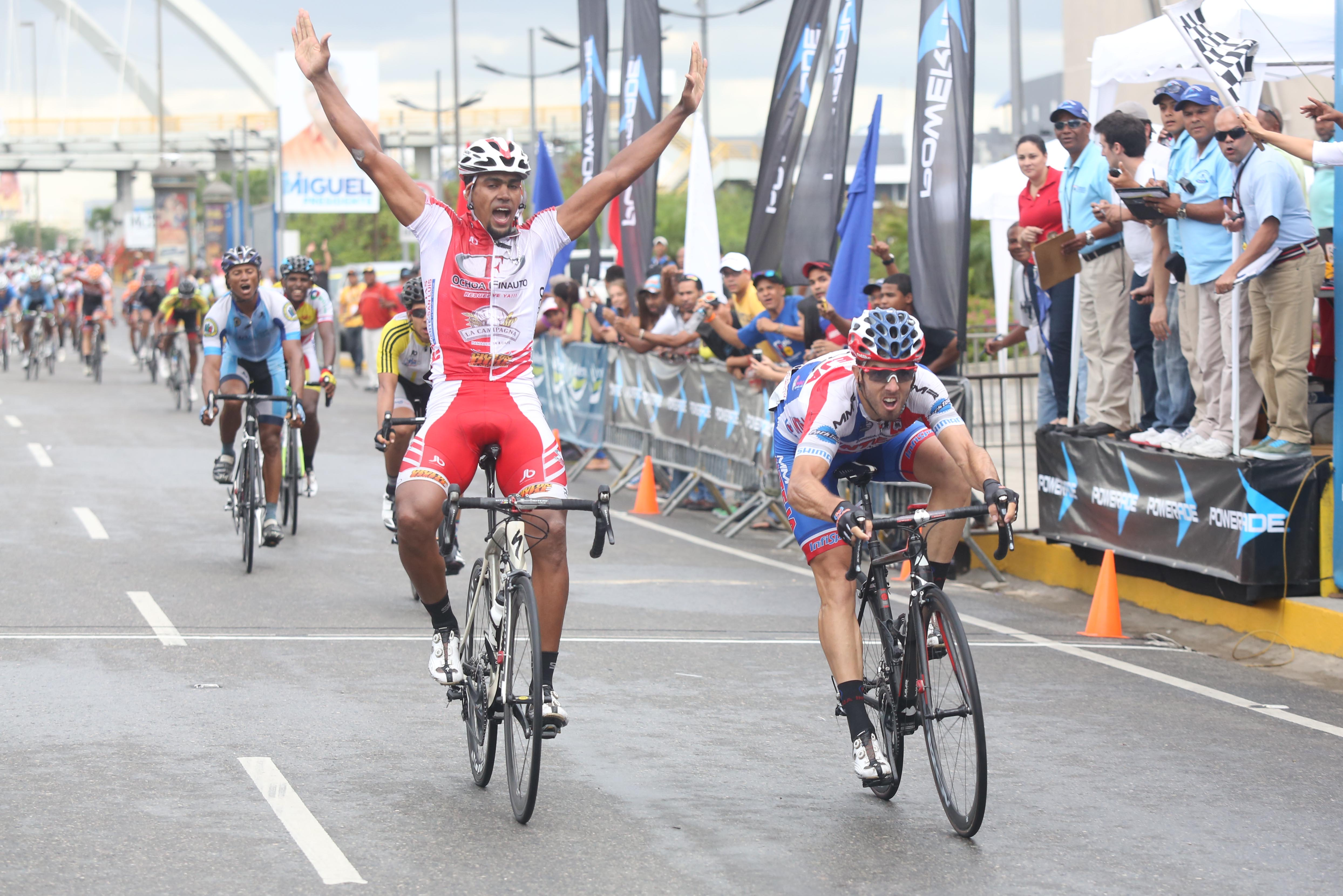 Criollo Norlandys Taveras conquistó la séptima etapa en Vuelta Independencia