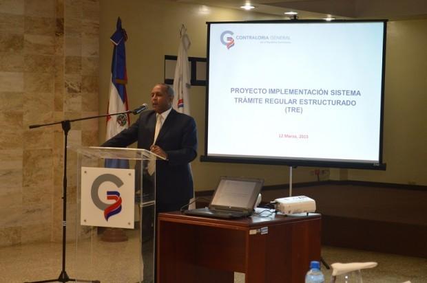 Contraloría presenta sistema TRE a entidades estatales