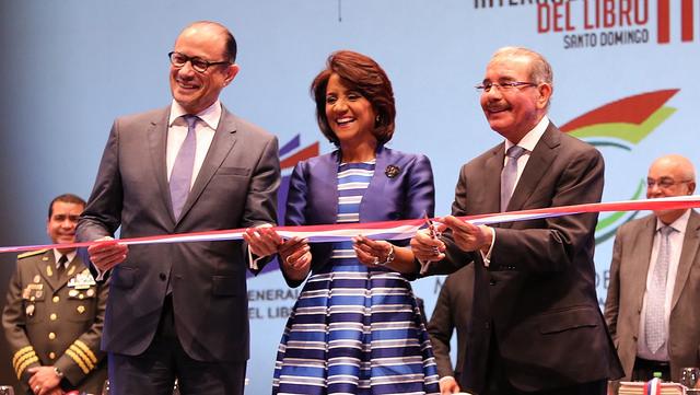 Presidente Medina inaugura XVIII Feria Internacional del Libro