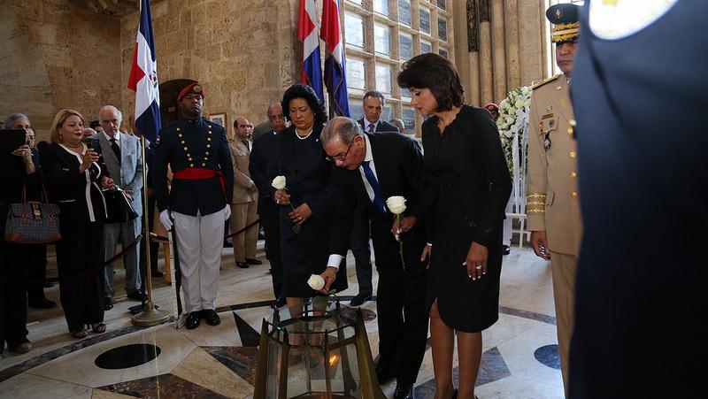 Presidente Medina encabeza actos conmemorativos de la Gesta de Abril de 1965