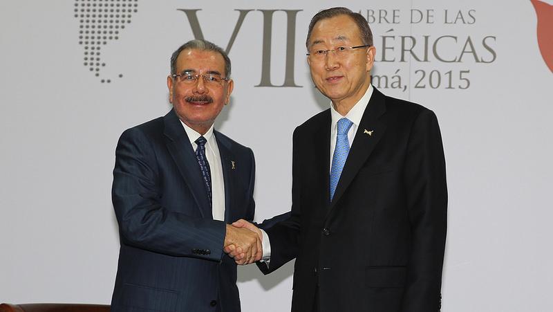 Presidente Medina: somos un país pobre que no puede asumir dos pueblos pobres