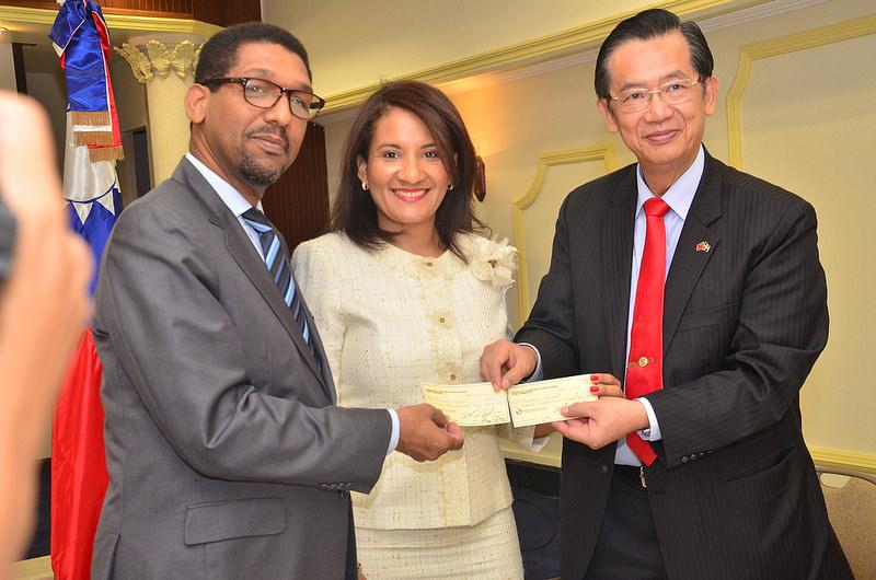 Taiwán dona 2 millones 100 mil dólares para proyectos en Ciudad Juan Bosch