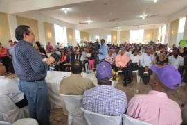 Javier García dice PLD necesita candidato garantice la unidad interna