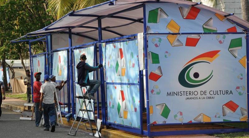 Agilizan montaje de Feria Internacional del Libro; será inaugurada el 23 de abril