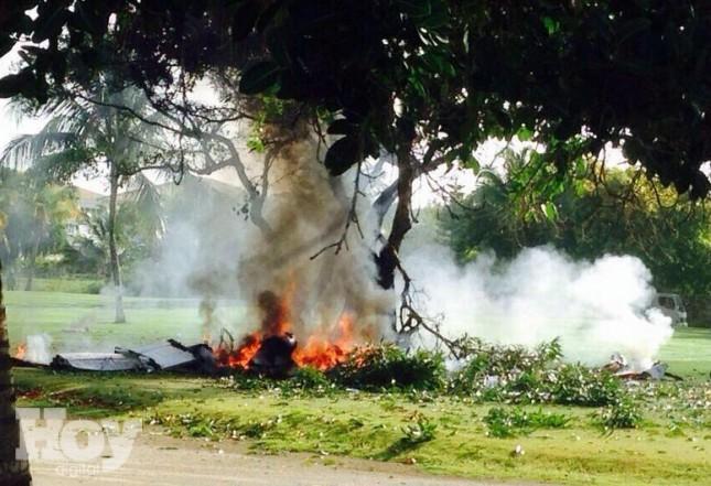 ¡Tragedia! Siete personas muertas al estrellarse una avioneta en Bávaro