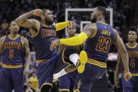 Cleveland ganó en tiempo extra; se coloca a un triunfo de avanzar a final de NBA; LeBron logró triple-doble