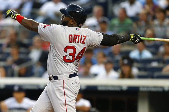 Ortiz y Hanley jonronean en paliza de Boston sobre Kansas